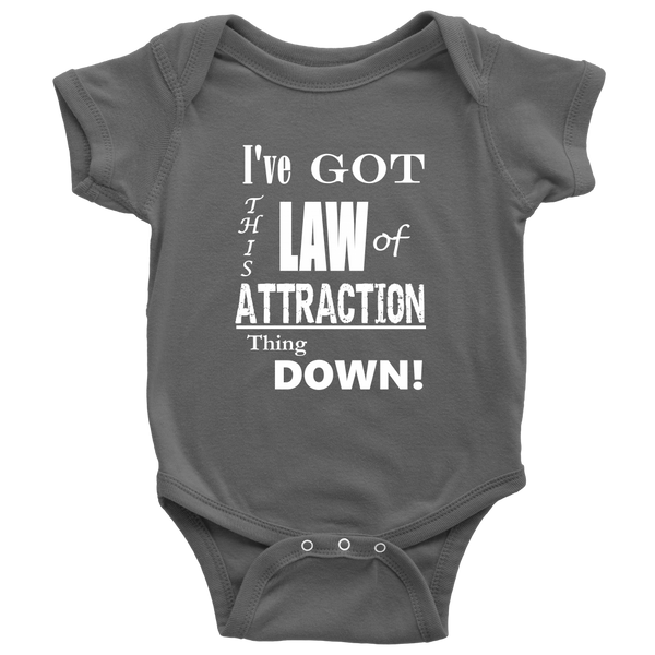Law of Attraction Baby Onesie - Nvr2Lte2Shop.com
