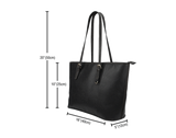 Football Small Leather Tote - Nvr2Lte2Shop.com