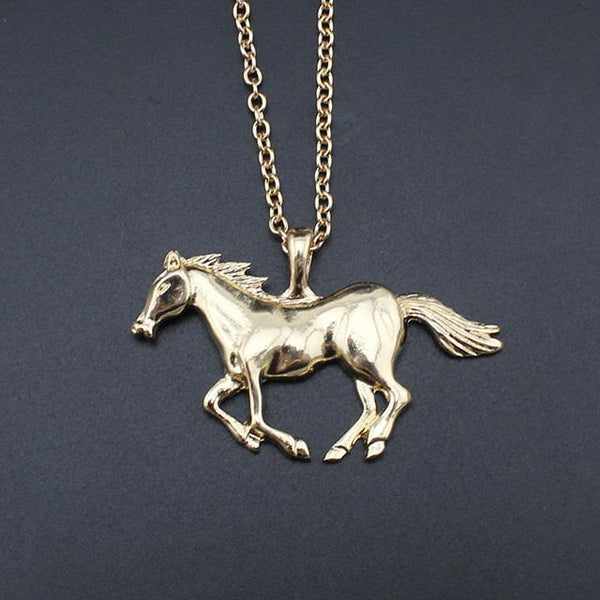 2018 Running Horse Pendant Necklace PROMO - Nvr2Lte2Shop.com
