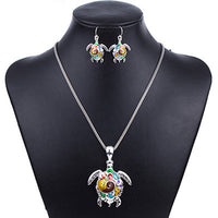 Unique Sea Turtle Fashion Design Jewelry Set PROMO - Nvr2Lte2Shop.com