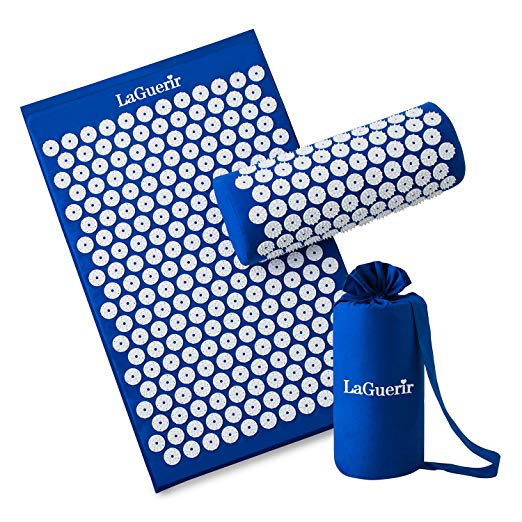 Acupressure Mat and Pillow Massager with Bag - Nvr2Lte2Shop.com