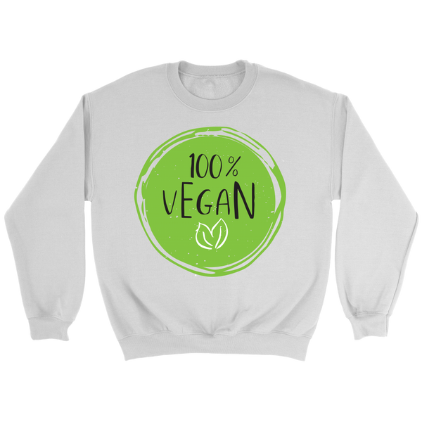 100% Vegan Sweatshirt - Nvr2Lte2Shop.com