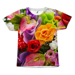 Flower All Over Print T-Shirt - Nvr2Lte2Shop.com