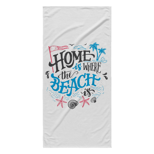 Home Beach Towel - Nvr2Lte2Shop.com