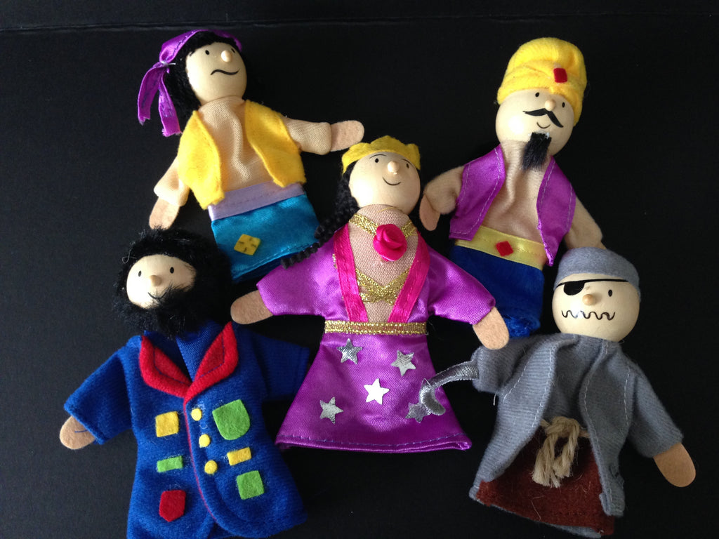 Arabian Nights Finger Puppet Set