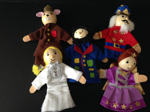 The Nutcracker Finger Puppet Set