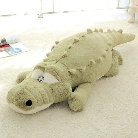 Large Soft Crocodile Toy