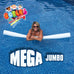 "Mega Jumbo Foam Pool Noodles Pick a Length 36"", 52"", 72"", White 5 Inch Diameter  Closed Cell Made in the USA - HonorTraders"