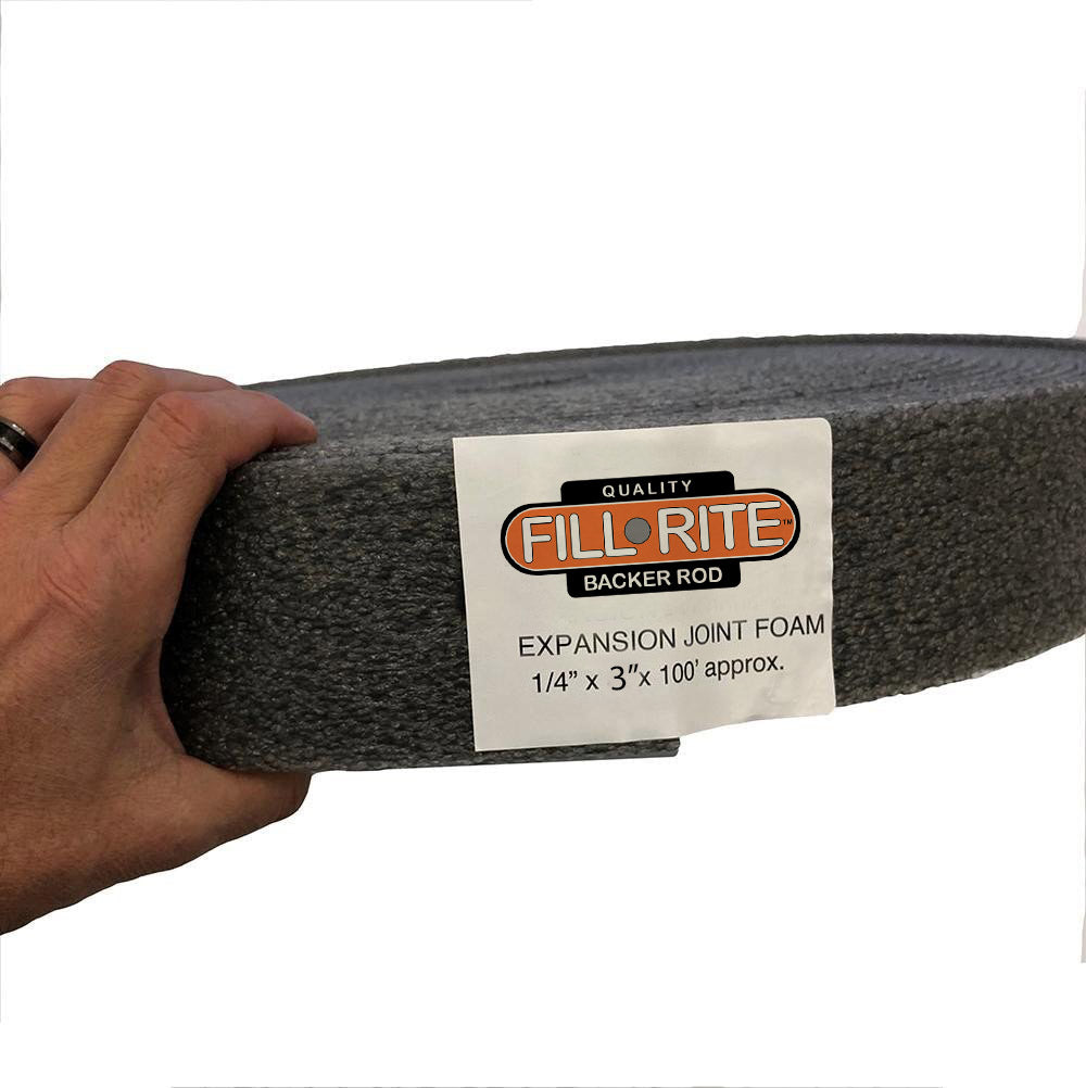Fill-Rite Construction Expansion Joint 1/4 inch wide by 3 inches tall - 100 foot roll