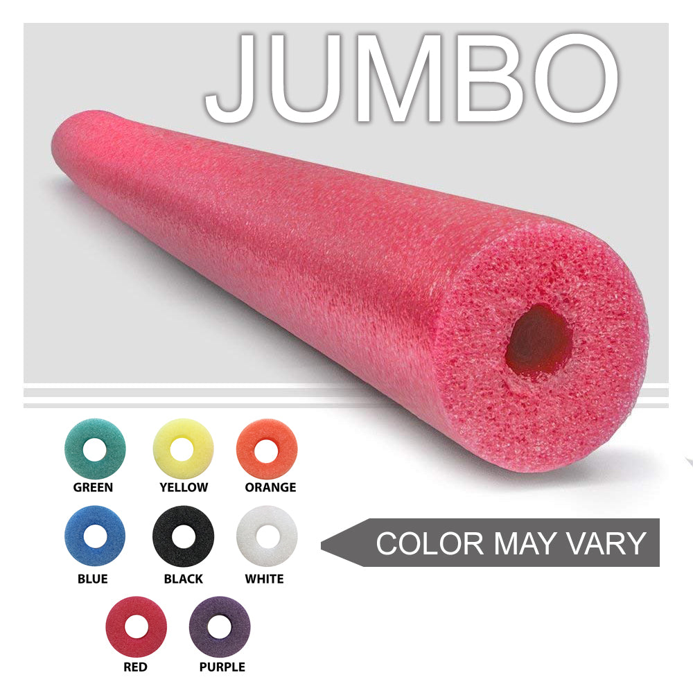 "Oodles of Noodles  One Jumbo 55"" x 3.5"" Pool Noodle For Childrens Bed Rail Random Colors - HonorTraders"