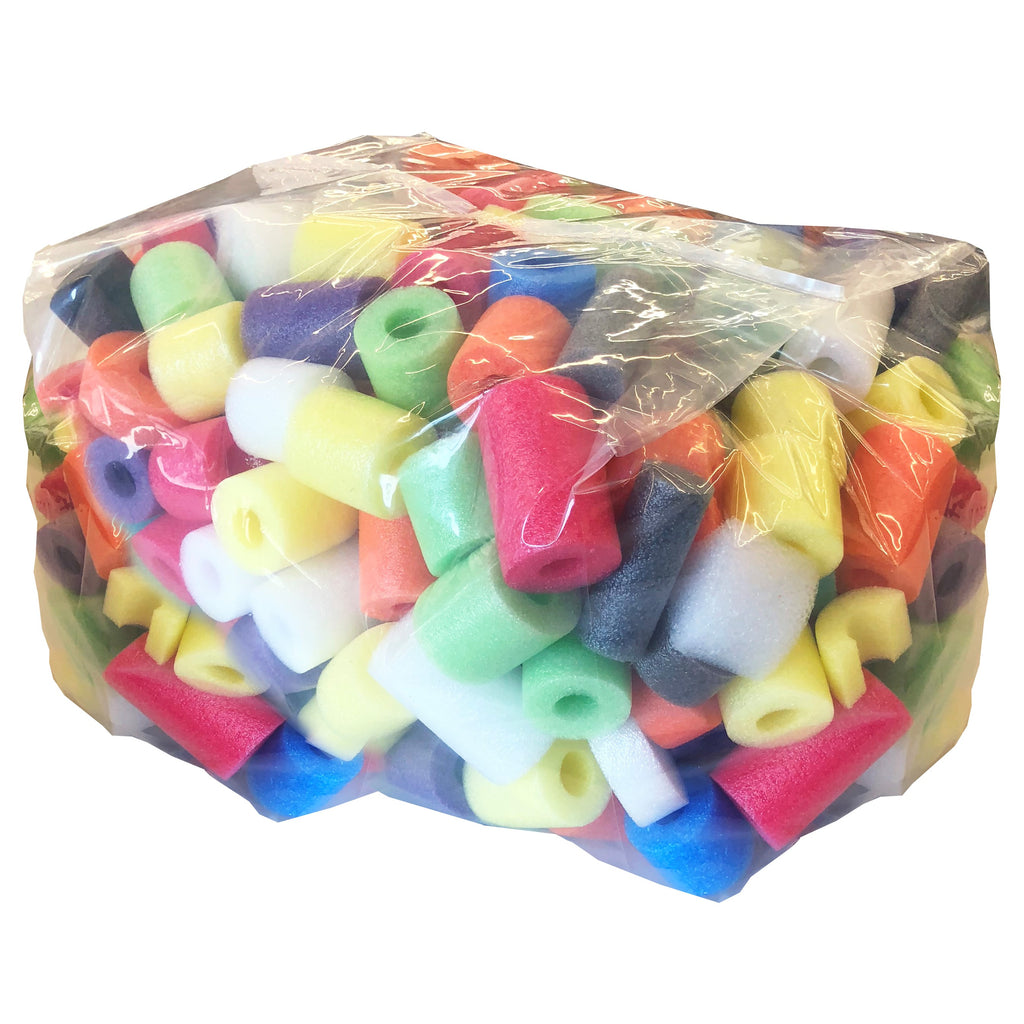 Oodles of Noodles Deluxe Foam Noodles Bits - Great for Crafts or Play - Large Bag - HonorTraders