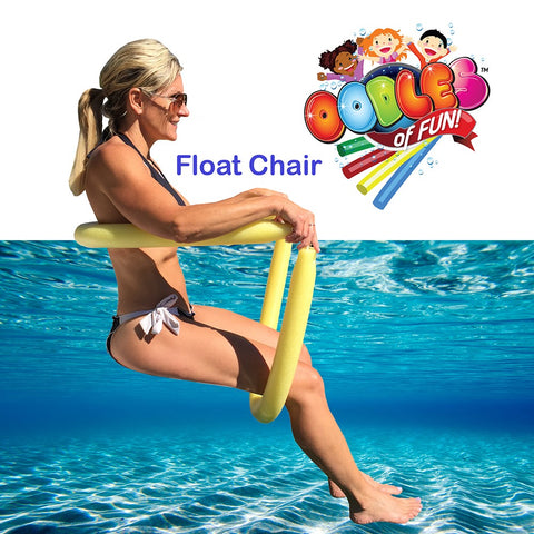 Floating Pool Noodle Water Chair Comfortable and Relaxing by Oodles of Noodles