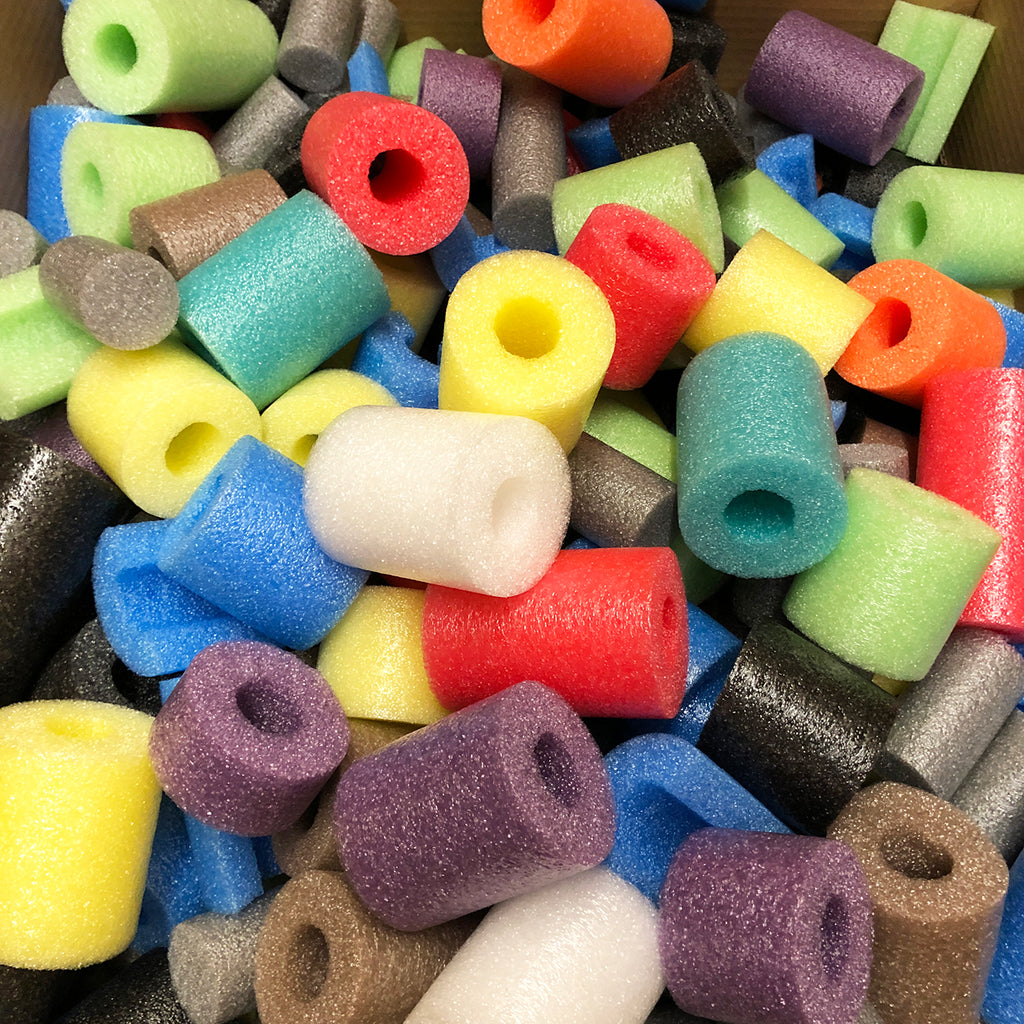 Oodles of Noodles Deluxe Noodles & Foam Bits - Great for Crafts or Play - HonorTraders