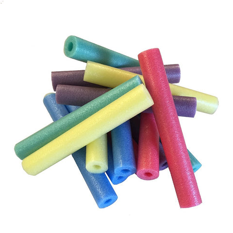 Oodles TM of Shorty Noodles Pack of 15 Multi-Color 17 Inch Pool Noodles - HonorTraders