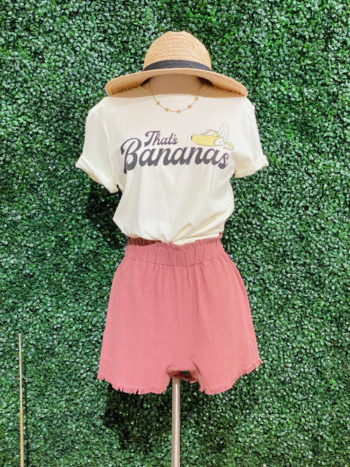 That's Bananas Graphic Tee - impromptu boutique