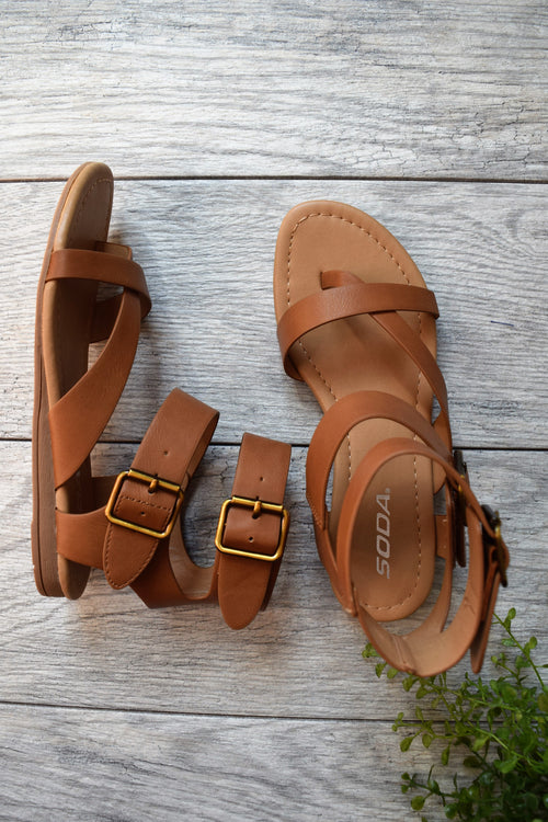 Chloe Gladiator Sandals - impromptu boutique