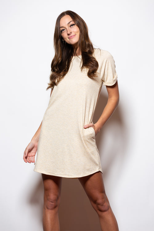 Where I'm Going T-Shirt Dress