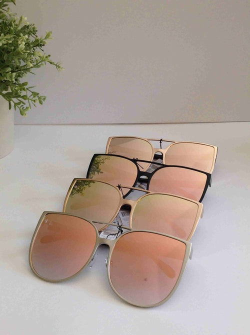 Model Behavior Mirrored Sunnies - impromptu boutique