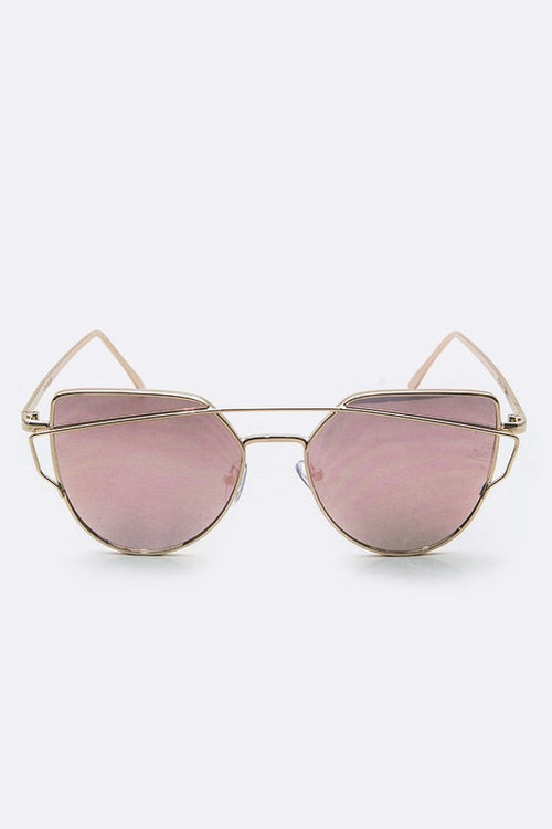 Weekend Worrior Mirrored Sunnies