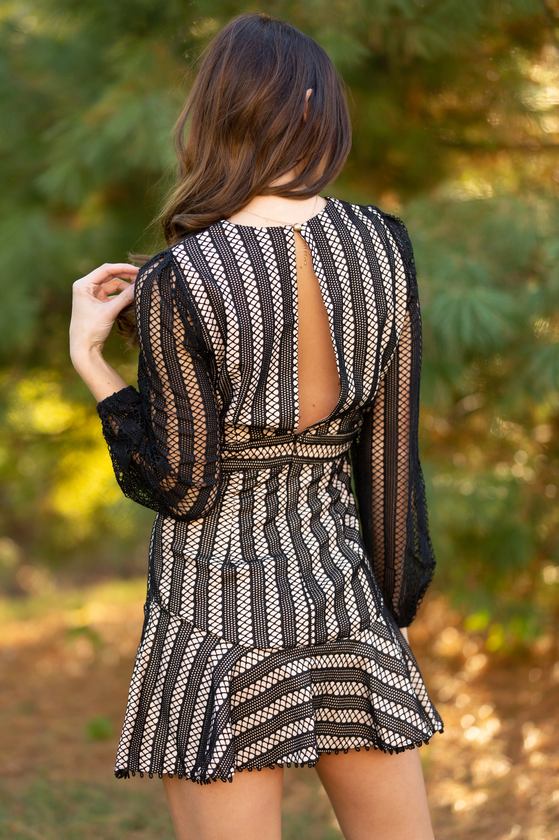How To Love Black Lace Dress - impromptu boutique