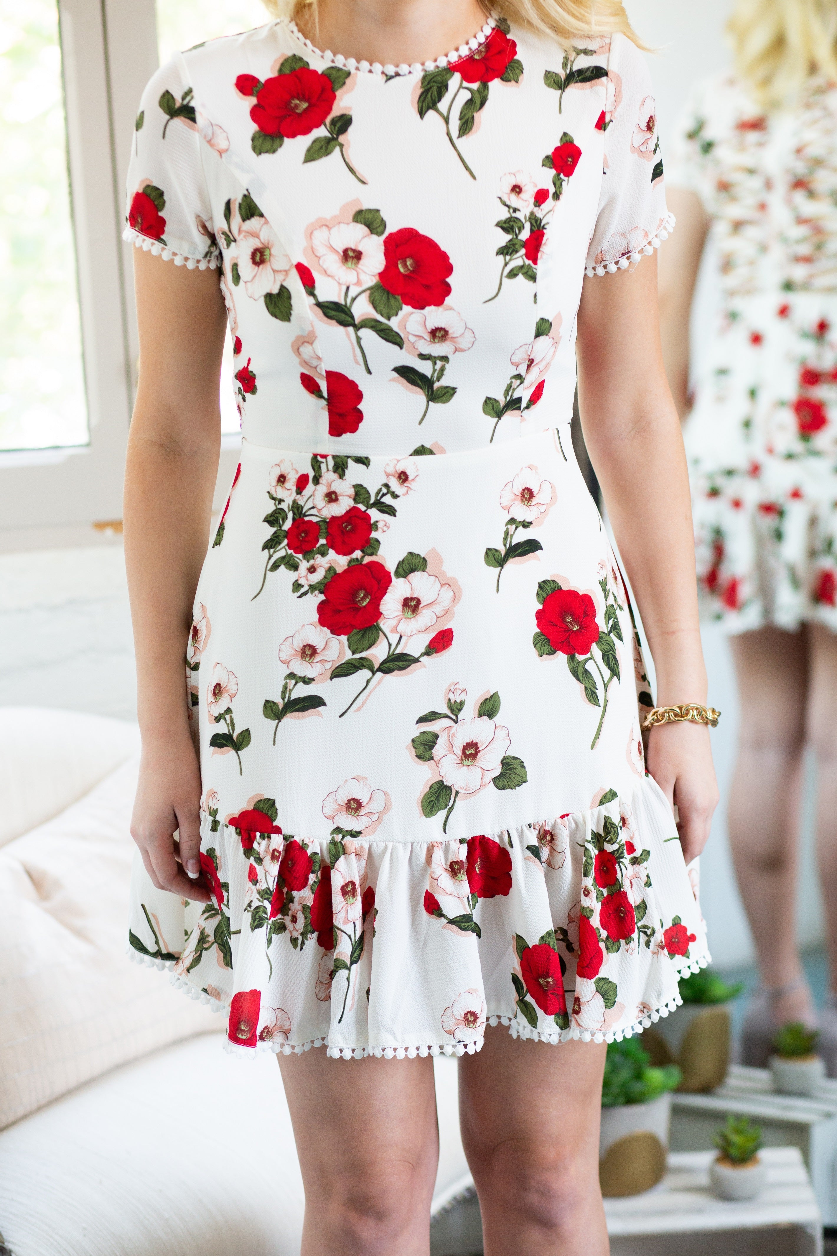 Catching Glances Floral Dress - impromptu boutique