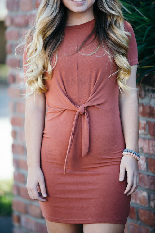 Why Knot Rust Dress