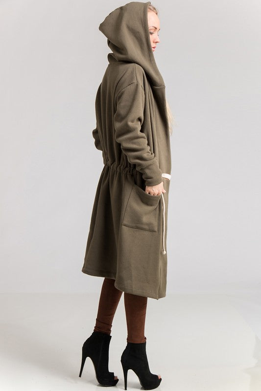 Weather Permitting Longline Coat
