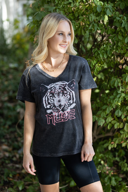 Tiger Muse Graphic Tee