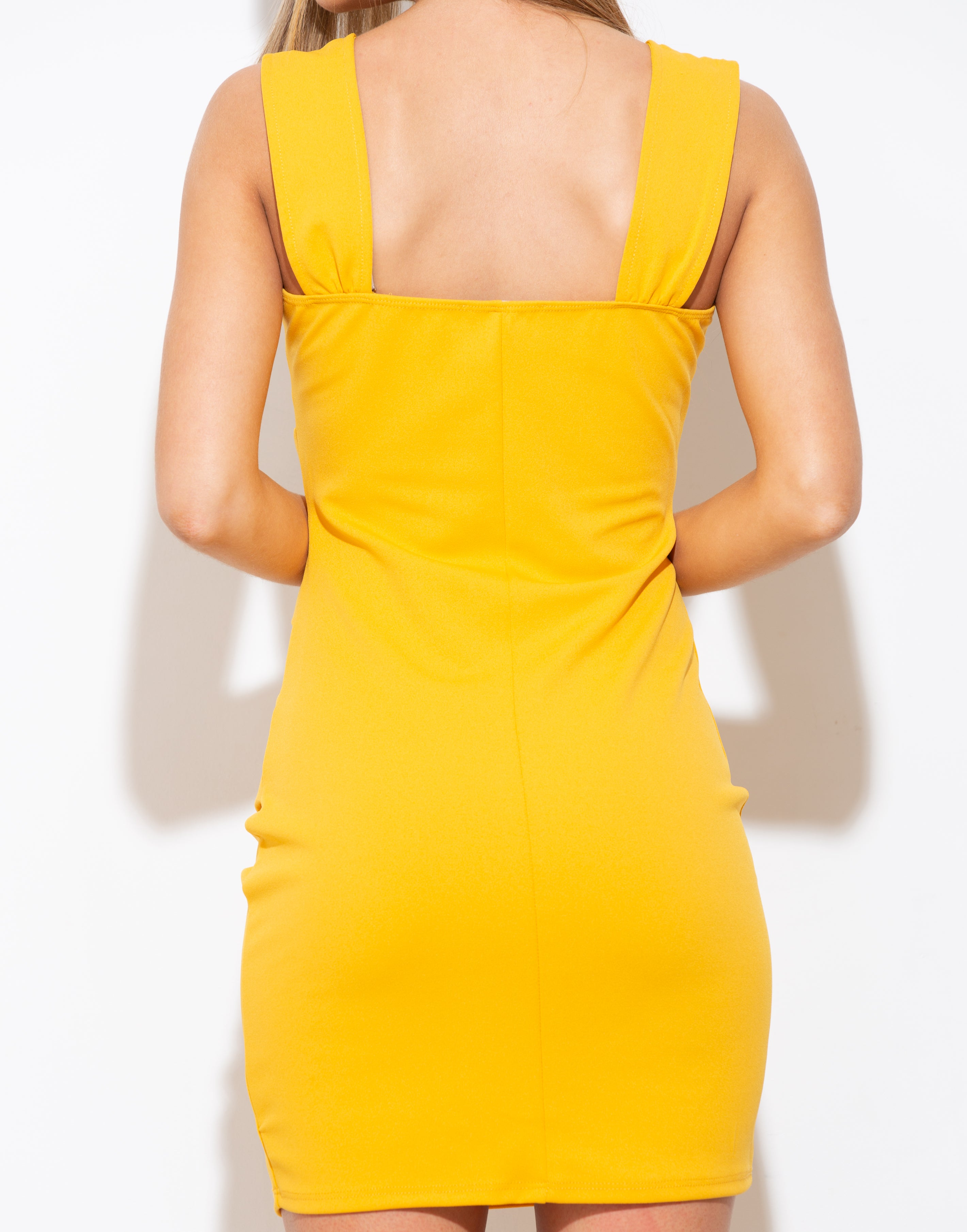 Just For Fun Yellow Mini Dress - impromptu boutique
