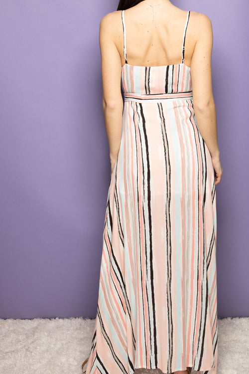 Make Your Entrance Stripe Maxi - impromptu boutique