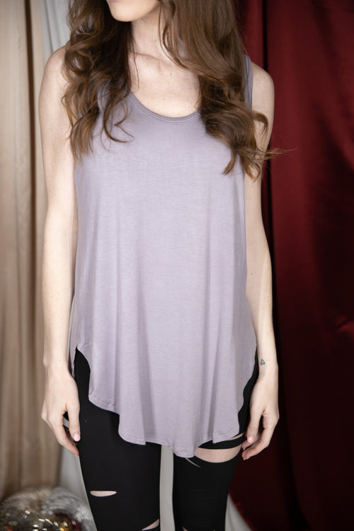 Simplify Your Style Bamboo Tank: Lavender