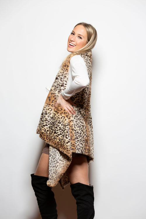 Spice Things Up Fur Cheetah Vest