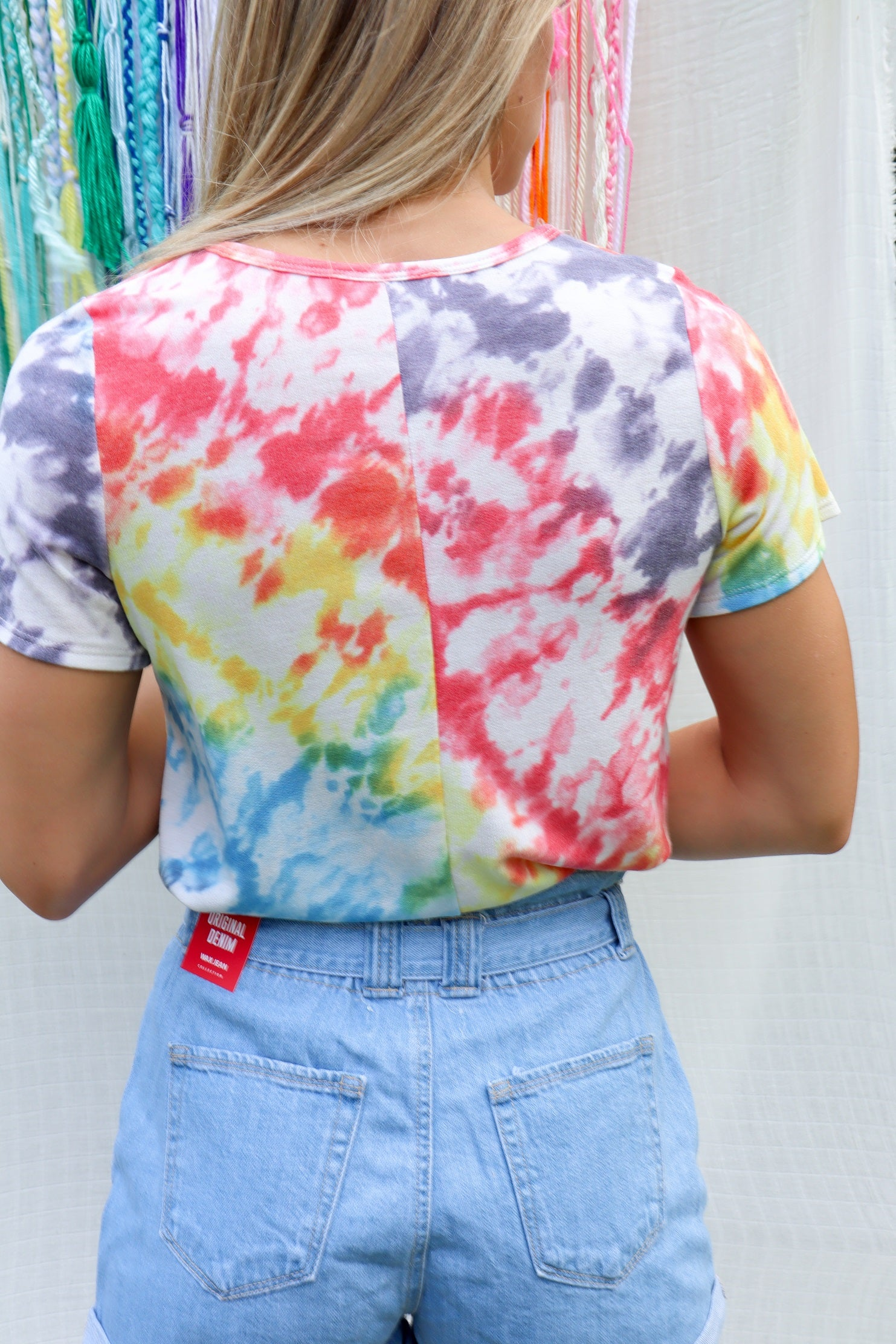 The Bright Side Tie Dye Tee