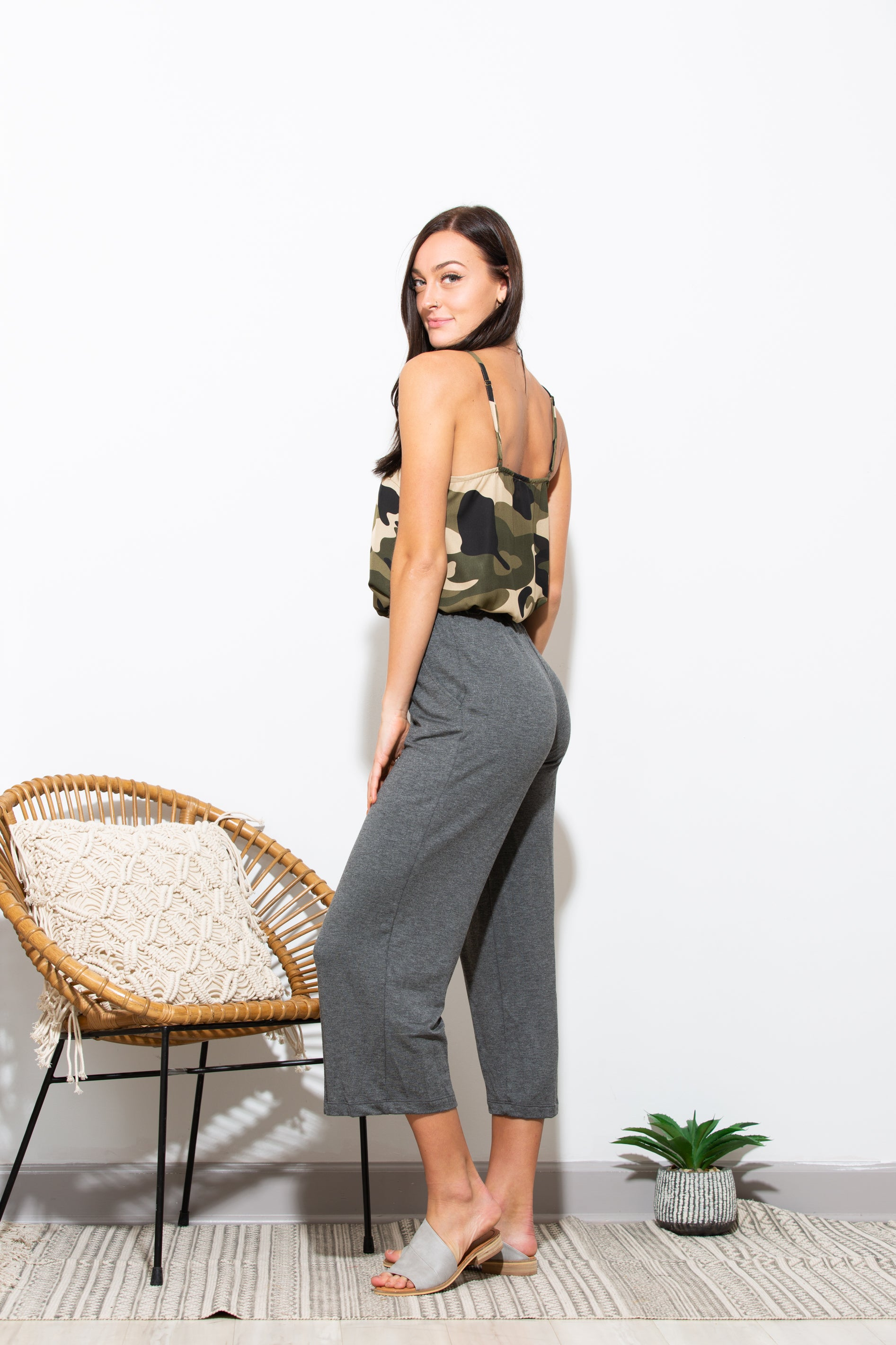 Current Status Culotte Pants - impromptu boutique
