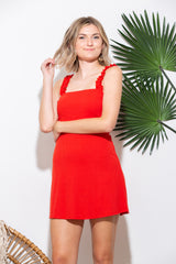 Happy Hour Red Mini Dress - impromptu boutique