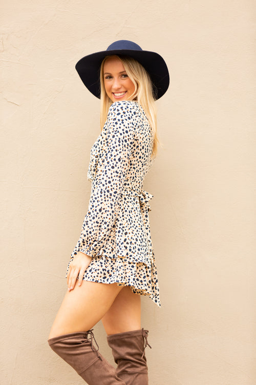 Ways To Love Leopard Romper