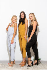 Everything About You Grey Jumpsuit - impromptu boutique