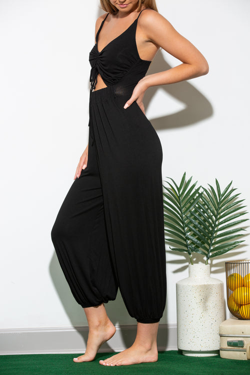 Thinking Of You Black Jumpsuit
