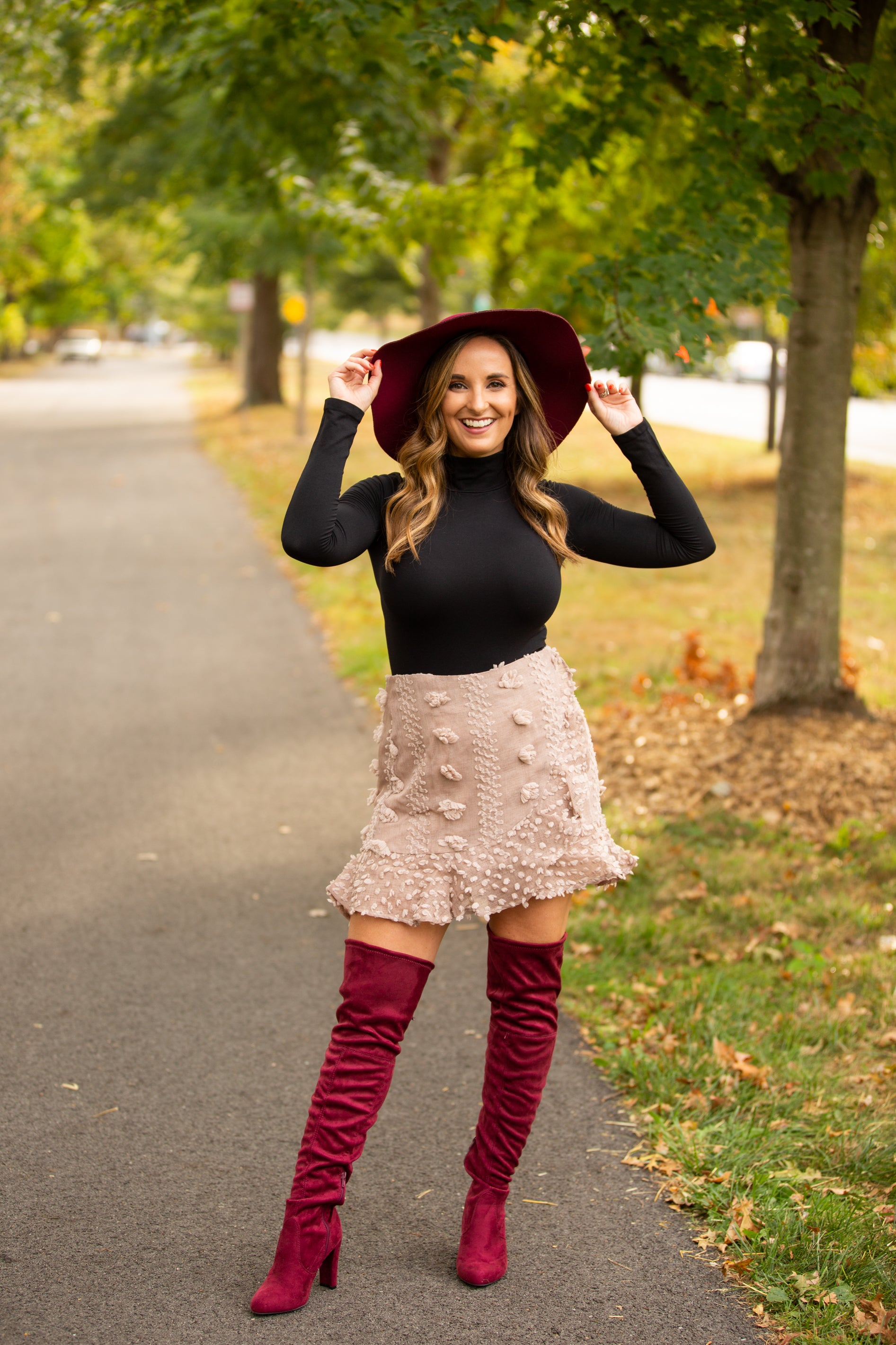 Change Of Heart PomPom Mini Skirt - impromptu boutique