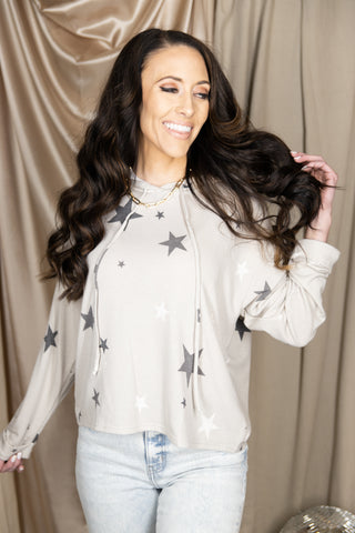 Seeing Double Ivory Spotted Blouse