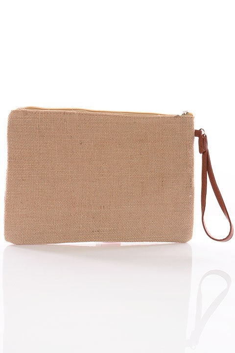 First Mate Hemp Clutch - impromptu boutique