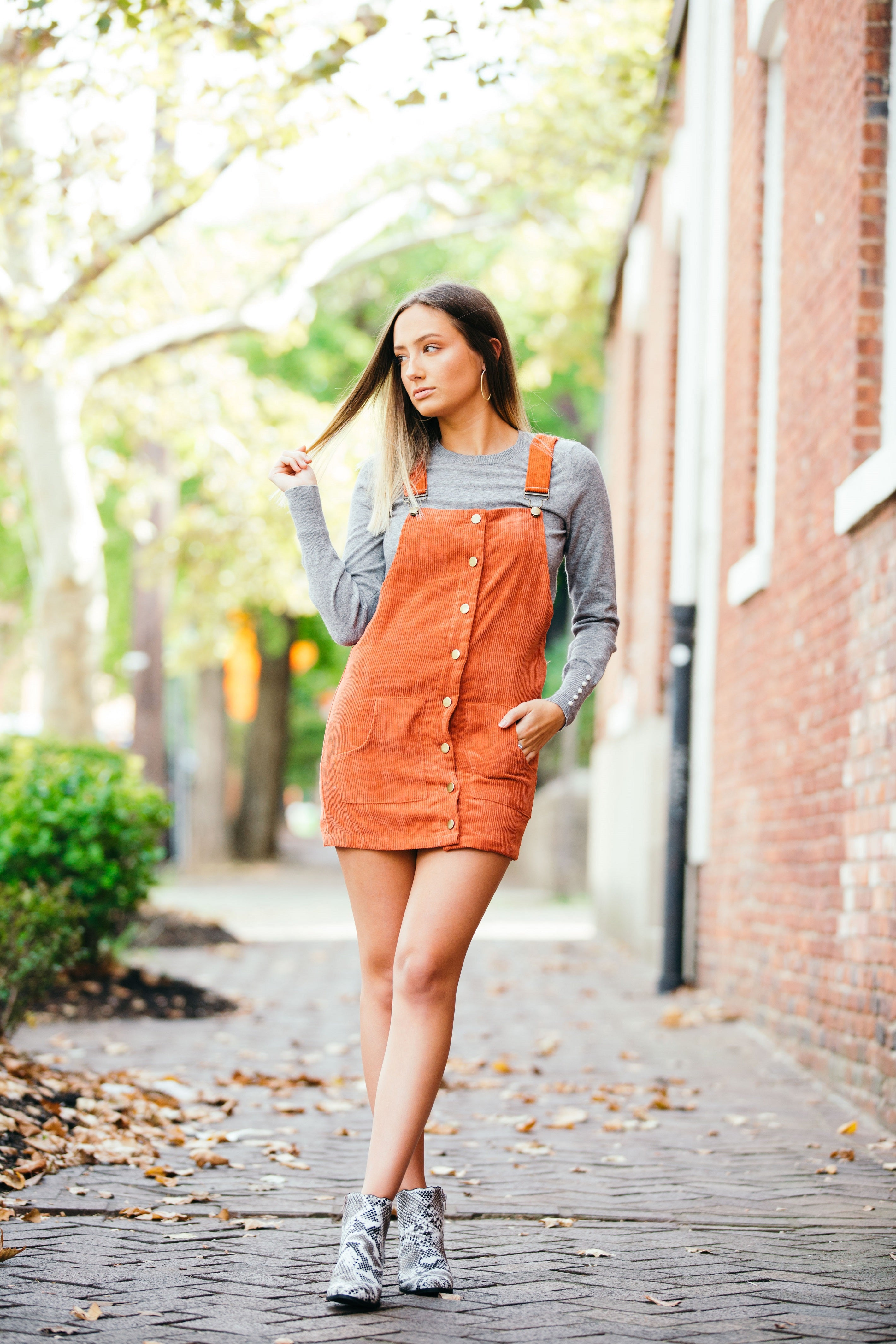Sugar And Spice Corduroy Overalls