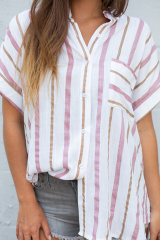 Tied To You Reversible Knot Top