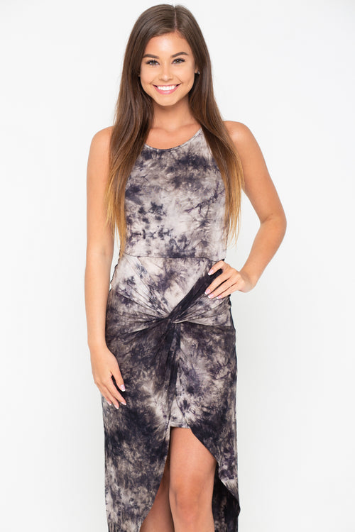 The Night Is Young Tie-Dye Maxi