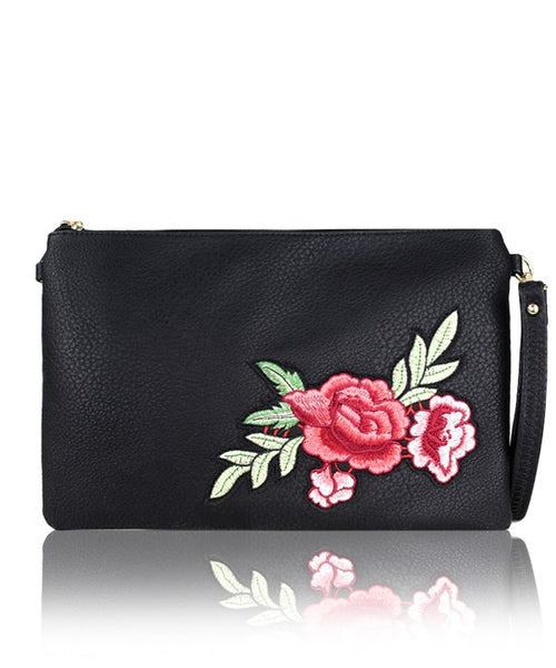 Top Producer Embroiderd Clutch