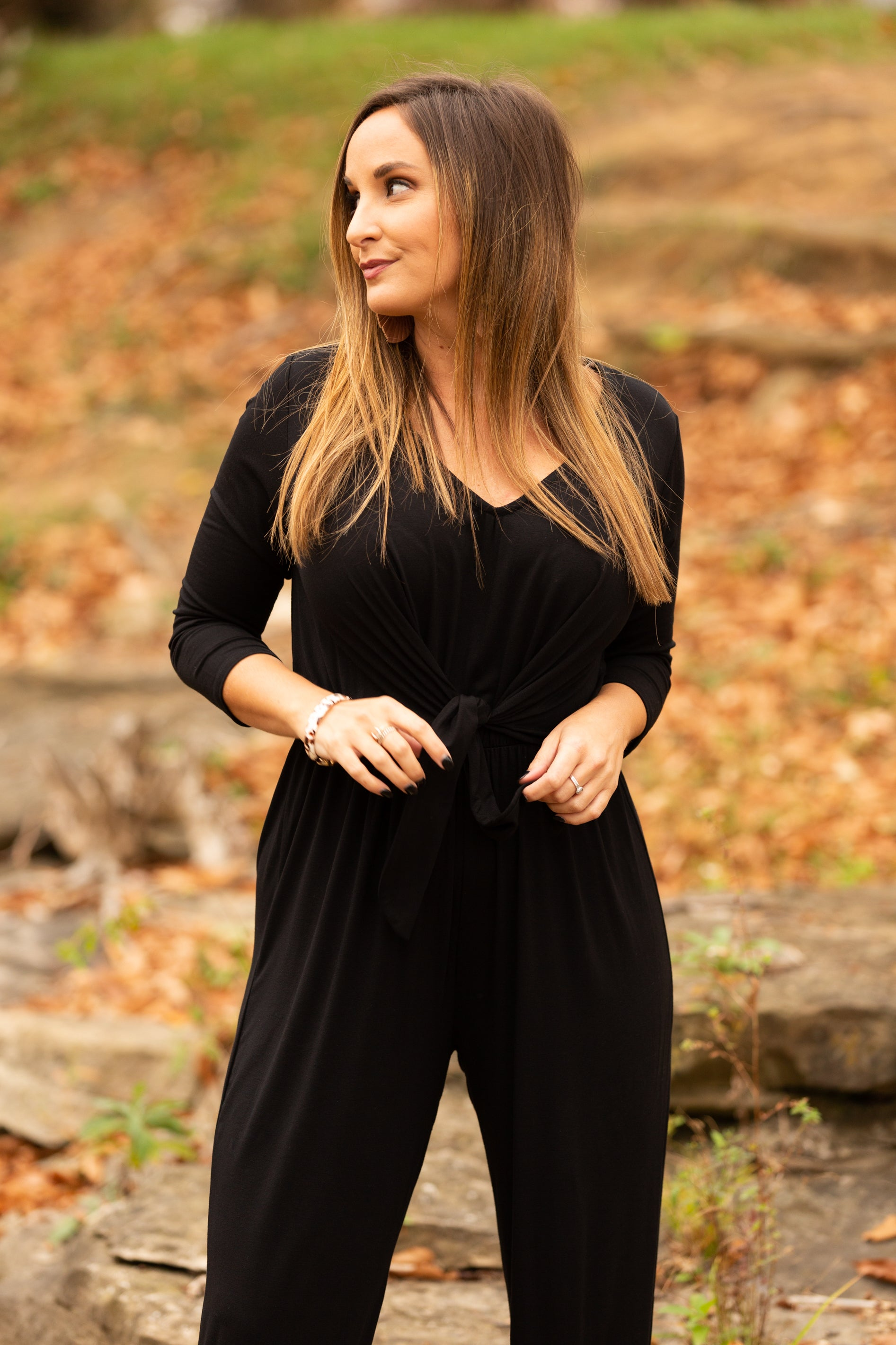 More Time With You Black Jumpsuit - impromptu boutique