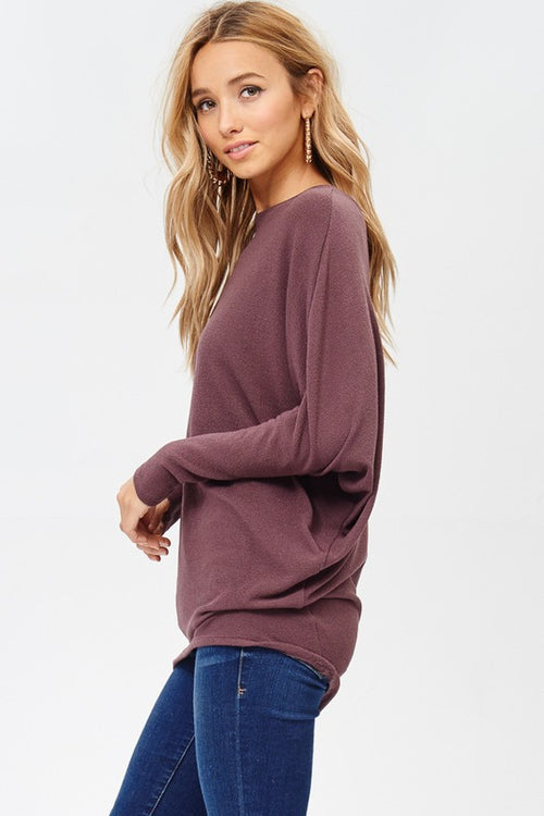 Next In Line Long Sleeve Tunic