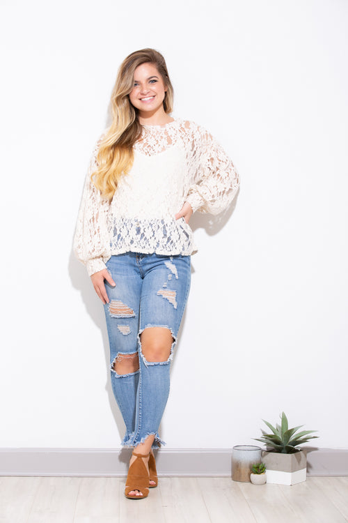 Your Embrace Lace Top