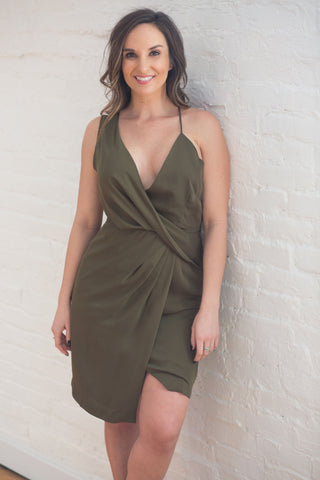 Cheers To You Crushed Velvet Shift Dress