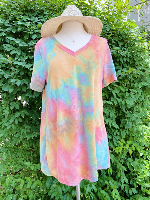 Life In Color Tie Dye Tee